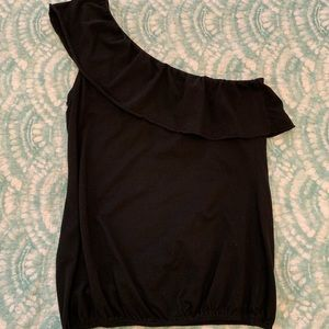 Sanctuary one shoulder top